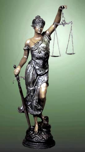 Lady Justitia